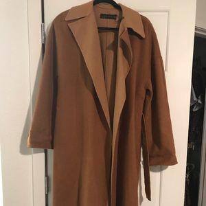 Zara women's maxi coat